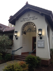 Fremont's Carnegie Library, Seattle. Photo: Susie.