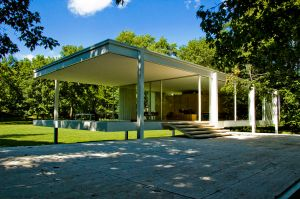The Farnsworth House, Illinois.