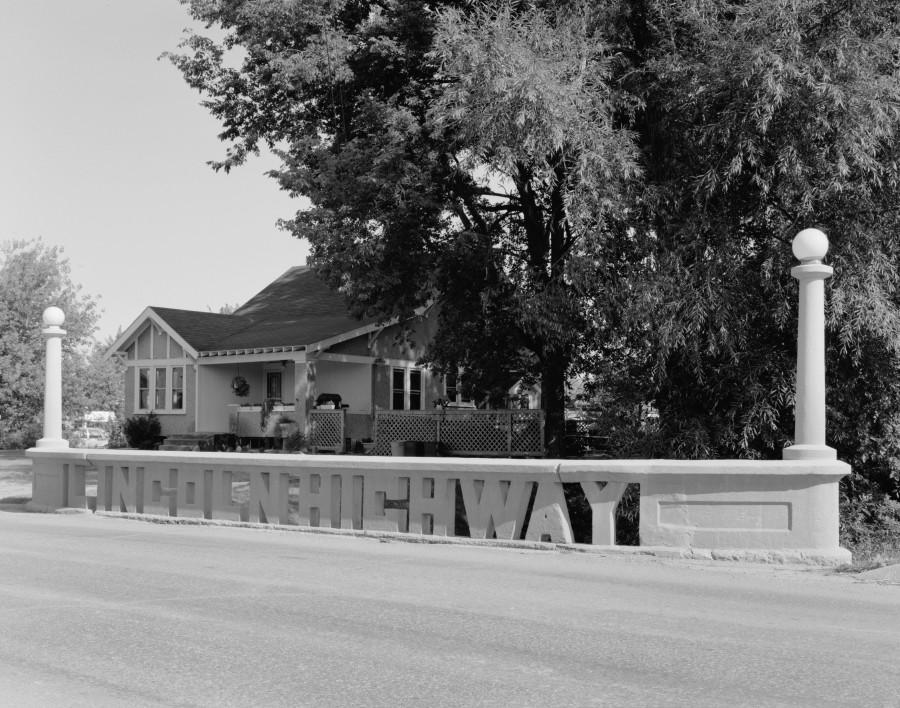 Lincoln Highway bridge in Iowa