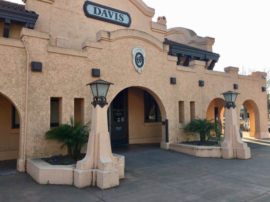 California Doesnt Just Boast Warm Climes It Offers Architecture To Match The Mission Revival Train Station In Davis Has Everything Youd Hope For